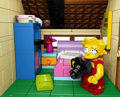 Lego Simpsons Set7 #simpsons #toys #simposons #lego
