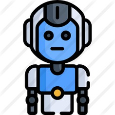See more icon inspiration related to automaton, futurist, futuristic, Science fiction, cyborg, robotic, robot, electronics, android, industry, machine and technology on Flaticon.