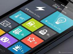 Home Automation Flat App Design by Ali Rahmoun