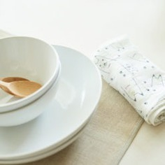 The Nawrap Printed Dishcloths are made using traditional Japanese weaving techniques. The dishcloths come in quirky designs to add color to your kitchen. They are also incredibly absorbent, durable, and quick to dry. The dishcloths also get very soft with use.