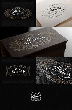 Atelier #businesscards