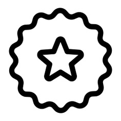 See more icon inspiration related to new, star, sticker, badge, design, badges and shapes on Flaticon.
