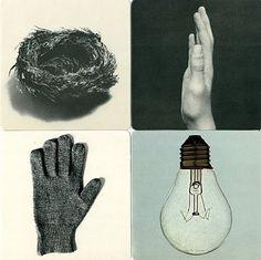 stopping off place: Bruno Munari: IMAGES OF REALITY #munari