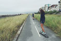#france #coast #sea #skate #longboard #family #summer #sport