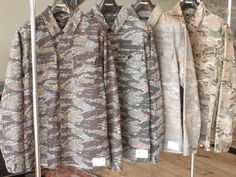 Undercoverism Camo, color accents #camo #undercover #military