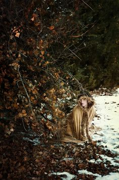 Ethereal and Fine Art Self-Portrait Photography by Sarah Allegra