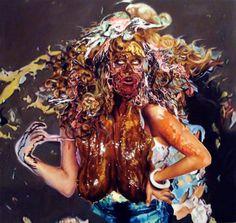 Francine Spiegel   PICDIT #painting #colour #art