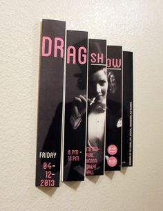 Drag Show Poster - Charles Poulson Graphic Design