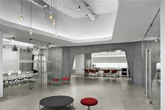 Industrial Aesthetic Office Space in Empire State Building - #office, office design, office space, #interior, #decor,