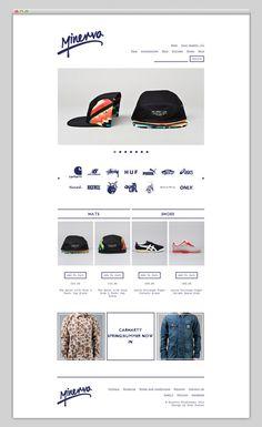 Minerva Streetwear (nice typography)