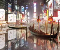 Aqualta: Times Square at Night, NYC #composite #nyc #bladerunner