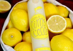 Crema di Limoncello Self-Promotional Gift #packaging #yellow #fruit #bottle #lemon