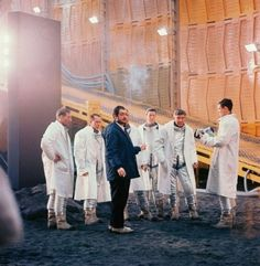 2001: A Space Odyssey film set shot #film #2001 #kubrick
