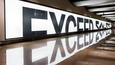 Current Campaigns #exceed #campaign #bmw #typography #serviceplan #maximum