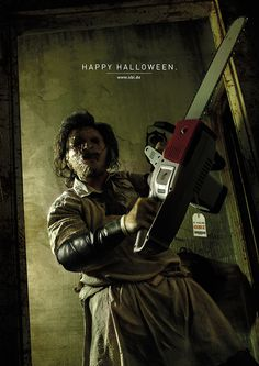 OBI - Halloween on Behance #halloween #basile #leatherface #obi #francesco