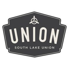 Union Apartments #logo #white #black #lake #seattle #union #apartments