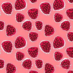 AmyWalters_SummerFruitsBerries_03 #fruit #pattern