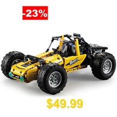 CaDA #C51043W #522pcs #Building #Blocks #RC #Car #All-Terrain #Vehicle #High-Simulation #Buggy #Model # #Toys