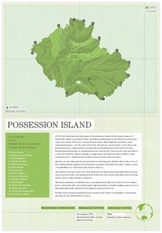 Atlas of Remote Islands - Trenton Jay #topography #map #texture
