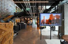 Inside Autodesk's New Office Setter Architects - www.homeworlddesign.com (14) #officesdesign