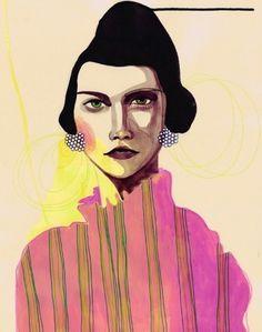 The Strange Attractor #illustration #collage