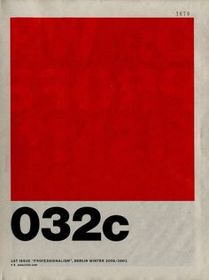 032c: Issue 01 | Flickr - Photo Sharing! #032c #crimson #issue #1st #20002001 #berlin #winter
