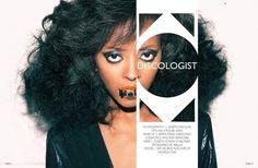 Discologist | Volt Café | by Volt Magazine #beauty #design #graphic #volt #jewellery #photography #art #fashion #layout #magazine #typography