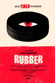 Rubber OLLY MOSS DOT COM #movie #retro #poster