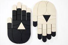 Scotty Albrecht: Balance of Opposites #wood #black #white #art