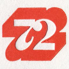 72 #numerals #lettering #1972 #monogram