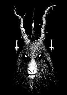 FFFFOUND! | stax&cane #satanic #justin #goat #bartlett