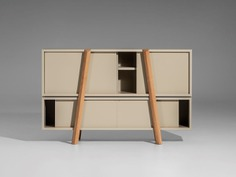 Sideboard with sliding doors DUJA by Nunc