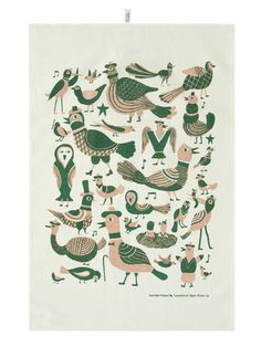 Laululinnut (Songbirds) - www.bjornlie.com #birds #illustration #bjornlie