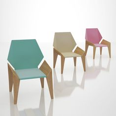 Origami Chair Design by DesignNobis #interior #design #decor #home #furniture #architecture