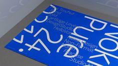 Nokia Pure Event | Work | DesignStudio #nokia #specimen #minimal #pure #type #typography