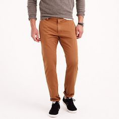 Sun-faded chino in 484 fit #chino