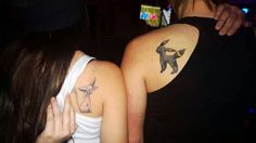 40+ Creative Best Friend Tattoos #bff #friend #best #tattoo #idea