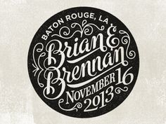 Brian_brennan #lettering #typography