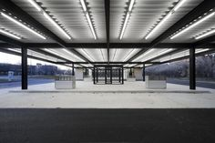 Architecture Photography: Conversion of Mies van der Rohe Gas Station / Les Architectes FABG - Conversion Of Mies Van Der Rohe Gas Station / Les Archi #architecture #mies
