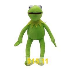 45cm #Kermit #Plush #Toys #Doll #Stuffed #Animal #Kermit #Toy #Plush #Frog #Doll #Kids #- #GREEN