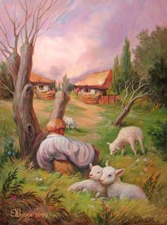 Incredible Optical Illusions by Oleg Shuplyak #shuplyak #optical #illusions #oleg
