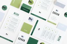 Gohan | Design by Rowan Made #stationary #branding