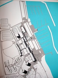 All sizes | Kiel/Munich 1972 - Bulletin 7 | Flickr - Photo Sharing! #otl #map #1972 #aicher #olympics #munich