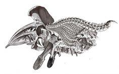 alienraumschiff_001-copy.jpg (JPEG Image, 689x430 pixels) #alien #illustration #anatomy