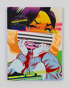 BLOT - POSE MSK #popart #canvas #graffiti