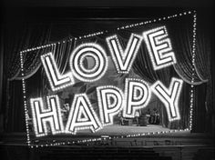 love-happy-title-still.jpg (JPEG Image, 640x480 pixels) #happy #title #design #opening #1949 #titles #love