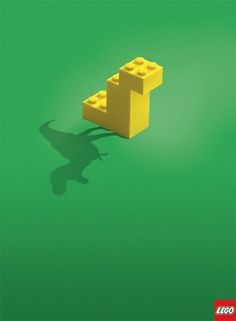 CREATIVE ADS: Lego - The Shadow Knows (4 total) - My Modern Metropolis #brunner #lego #poster #blattner
