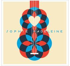 grain edit · modern graphic design inspiration blog + vintage graphics resource #heart #blue #red #music