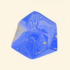 Hugo & Marie - Santtu Mustonen #marbled #print #shape