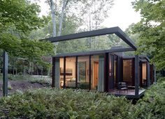 Dutchess County Residence - Guest House by Allied Works Architecture